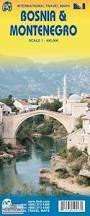 Bosnien & Montenegro Landkarte 1:400.000, ITM