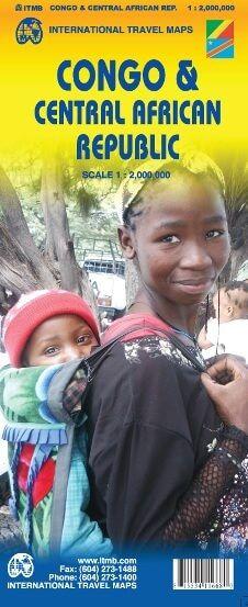 Kongo & Zentralafrikanische Republik 1:2.000.000, ITM