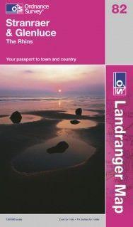 Landranger 82 Stranraer & Glenluce, Großbritannien Wanderkarte 1:50.000