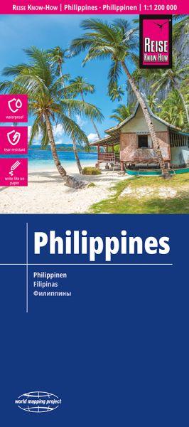 Philippinen Landkarte 1:1.200.000, Reise Know-How