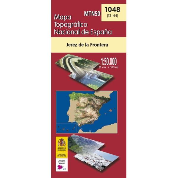 Jerez De La Frontera Karte.Jerez De La Frontera Topographische Karte 1 50 000 Spanien Cnig Blatt 1048