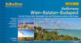 Wien-Balaton-Budapest, Bikeline Radtourenbuch, Esterbauer
