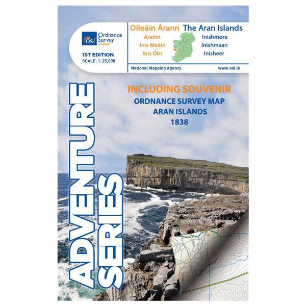 OSI The Aran Islands, Wanderkarte 1:25.000, Ordnance Survey Ireland