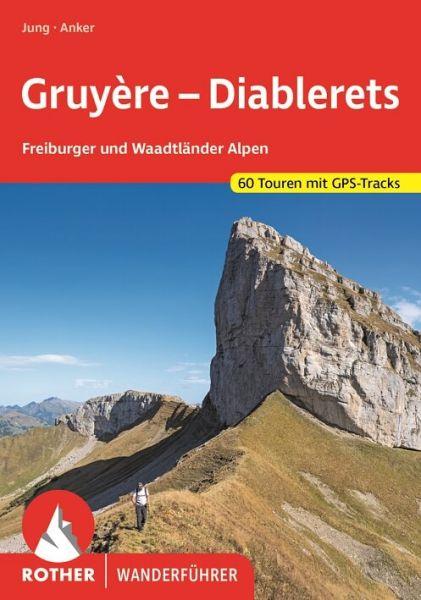 Gruyère - Diablerets Wanderführer, Rother