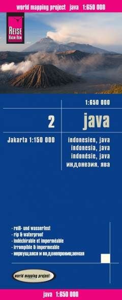 Java (Indonesien) Landkarte 1:650.000, Reise Know-How