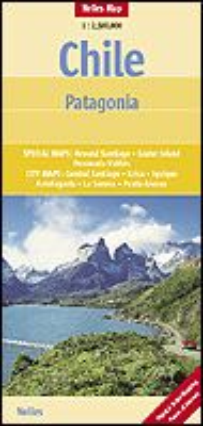 Nelles Maps, Chile - Patagonien 1:2.500.000