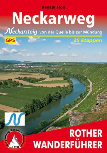 Neckarweg Wanderführer, Rother
