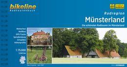 Münsterland, Bikeline Radwanderführer mit Karte, Esterbauer