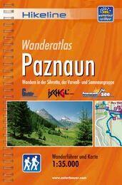 Paznaun, Hikeline Wanderführer mit Karte, Esterbauer