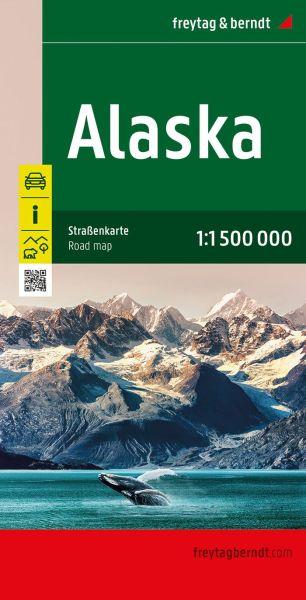 Alaska, Landkarte 1:1.750.000, Freytag und Berndt