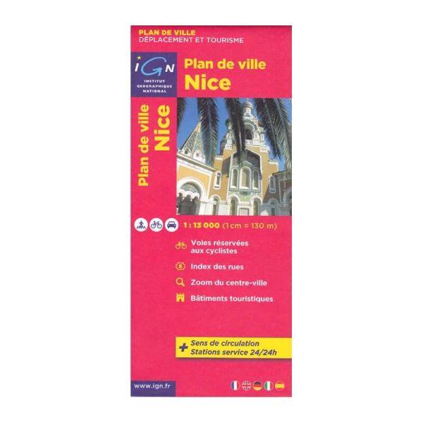 IGN Stadtplan Nizza (Nice), 1:13.000