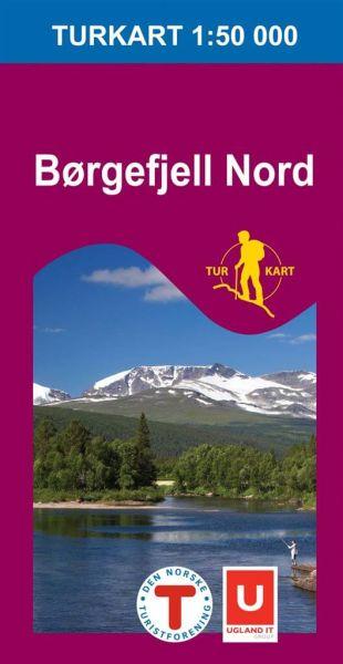 Borgefjell / Børgefjell nord Wanderkarte 1:50.000 – Norwegen, Turkart 2621 von Nordeca