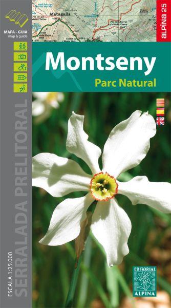 Parc Natural del Montseny Wanderkarte 1:25.000 - Editorial Alpina