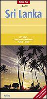 Nelles Maps, Sri Lanka Landkarte 1:500.000