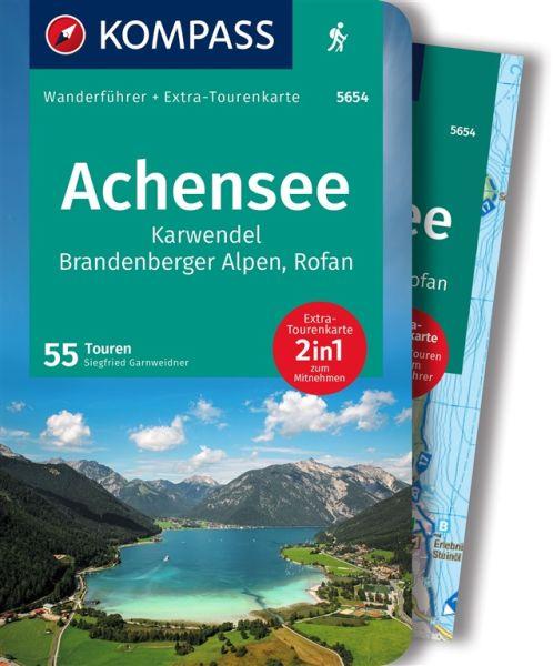 Achensee mit Karte, Kompass Wanderführer