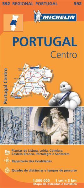 Michelin regional 592 Portugal Mitte 1:300.000