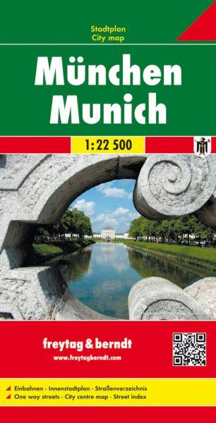 München, Stadtplan 1:22.500, Freytag und Berndt