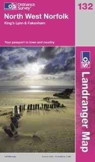 Landranger 132 North West Norfolk Wanderkarte 1:50.000 - OS / Ordnance Survey