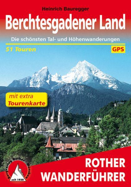 Berchtesgadener Land Wanderführer mit Karte, Rother