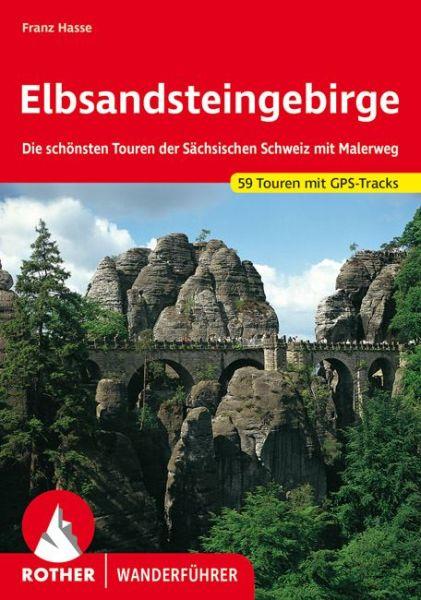 Elbsandsteingebirge Wanderführer, Rother