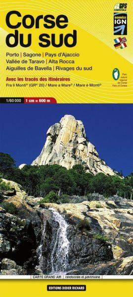 Editions Didier Richard 09 Corse du Sud, Wanderkarte 1:60.000