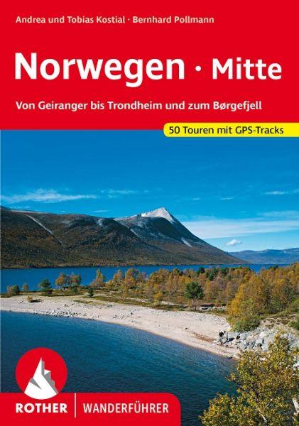 Norwegen Mitte Wanderführer, Rother