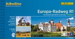 Europa-Radweg R1, Bikeline Radwanderführer mit Karte, Esterbauer