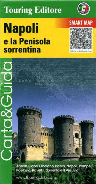 TCI Italien Golf von Neapel Straßenkarte 1:175.000 wasser- und reißfest