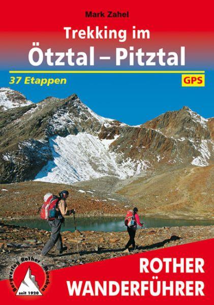 Trekking im Ötztal - Pitztal, Rother Wanderführer