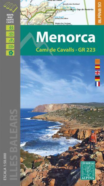 Menorca - Cami de Cavalls Wanderkarte 1:50.000 - Editorial Alpin