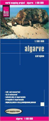 Algarve Landkarte 1:100.000, Reise Know-How