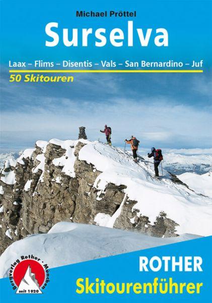 Surselva Rother Skitourenführer