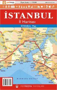 Istanbul Region Straßenkarte 1:170.000 Yolmap, Türkei