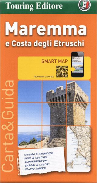 Maremma touristische Freizeitkarte 1:200.000, TCI