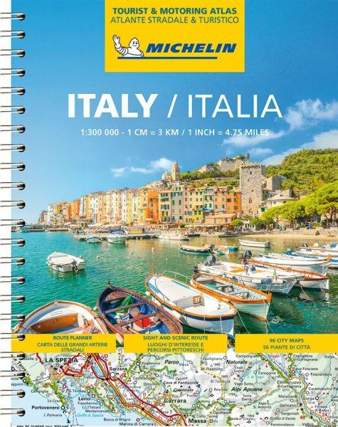 Italien Straßenatlas, 1:300.000, Michelin