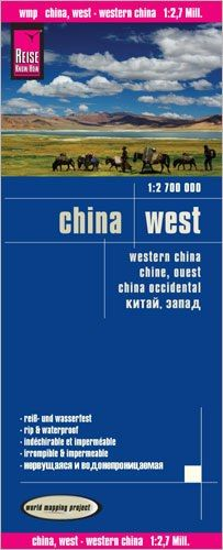 China West Landkarte 1:2.700.000, Reise Know-How