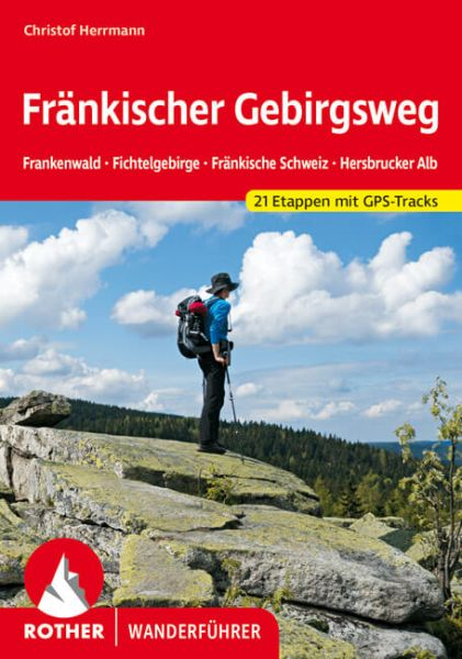 Fränkischer Gebirgsweg - Rother Wanderführer