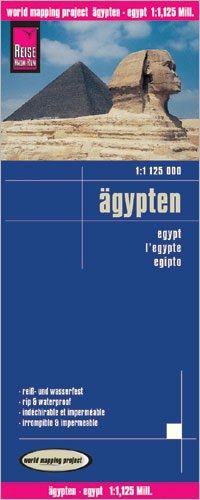 Ägypten Landkarte 1:1.125.000, Reise Know-How