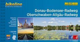 Donau-Bodensee-Weg und Oberschwaben-Allgäu-Weg, Bikeline Radwanderführer mit Karte, Esterbauer