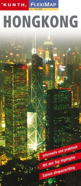 Easy Map: Hongkong Stadtplan 1:15.500 - Kunth