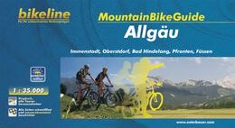 Allgäu, Bikeline Mountainbikeführer mit Karte, Esterbauer