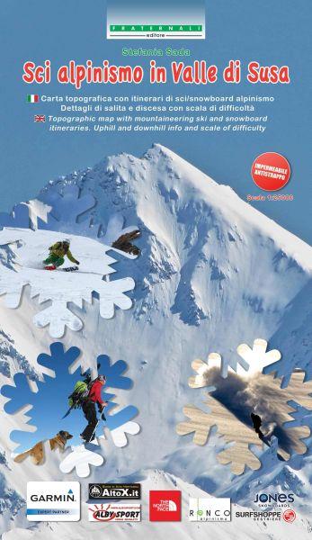 Piemont Skitourenkarten: Valle di Susa 1:25.000, wasser- und reißfest