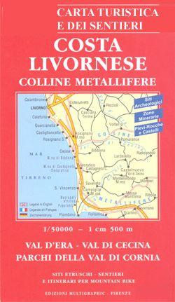 Edition Multigraphic 723, Costa Livornese Colline Metallifere, Toskana, 1:50.000