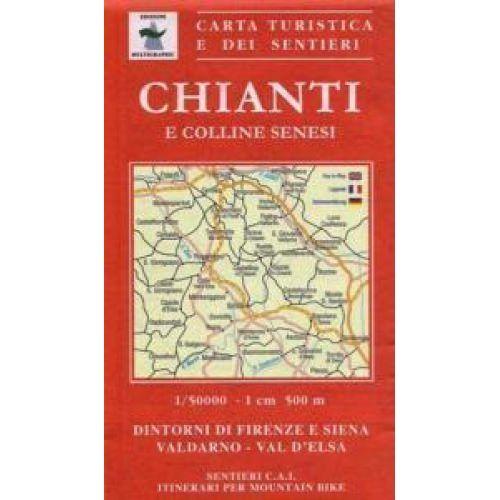 Edition Multigraphic 722, Chianti Fiorentino e Senese, Toskana, 1:50.000