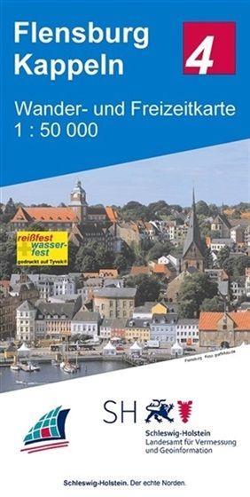 Blatt 4 Flensburg - Kappeln Wander- und Freizeitkarte 1:50.000