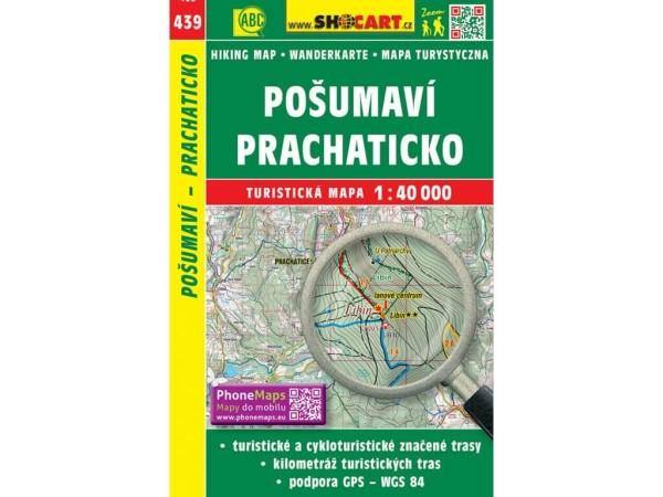 Böhmerwald, Prachatitz Wanderkarte 1:40.000 - SHOCart 439