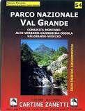 Parco Nazionale Val Grande topographische Wanderkarte 1:30.000, Zanetti