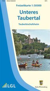 Tauberbischofsheim Freizeitkarte in 1:50.000 - F512 mit Rad- und Wanderwegen