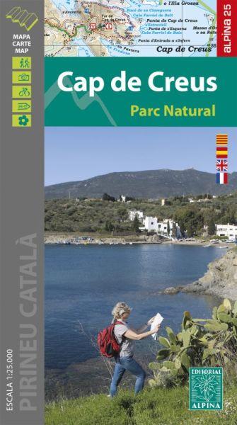 Cap de Creus Wanderkarte 1:25.000 - Editorial Alpina