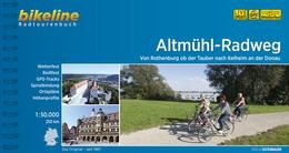 Altmühltal-Radweg, Bikeline Radwanderführer mit Karte